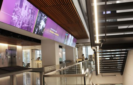 University of Pittsburgh Scaife Hall Exhibit